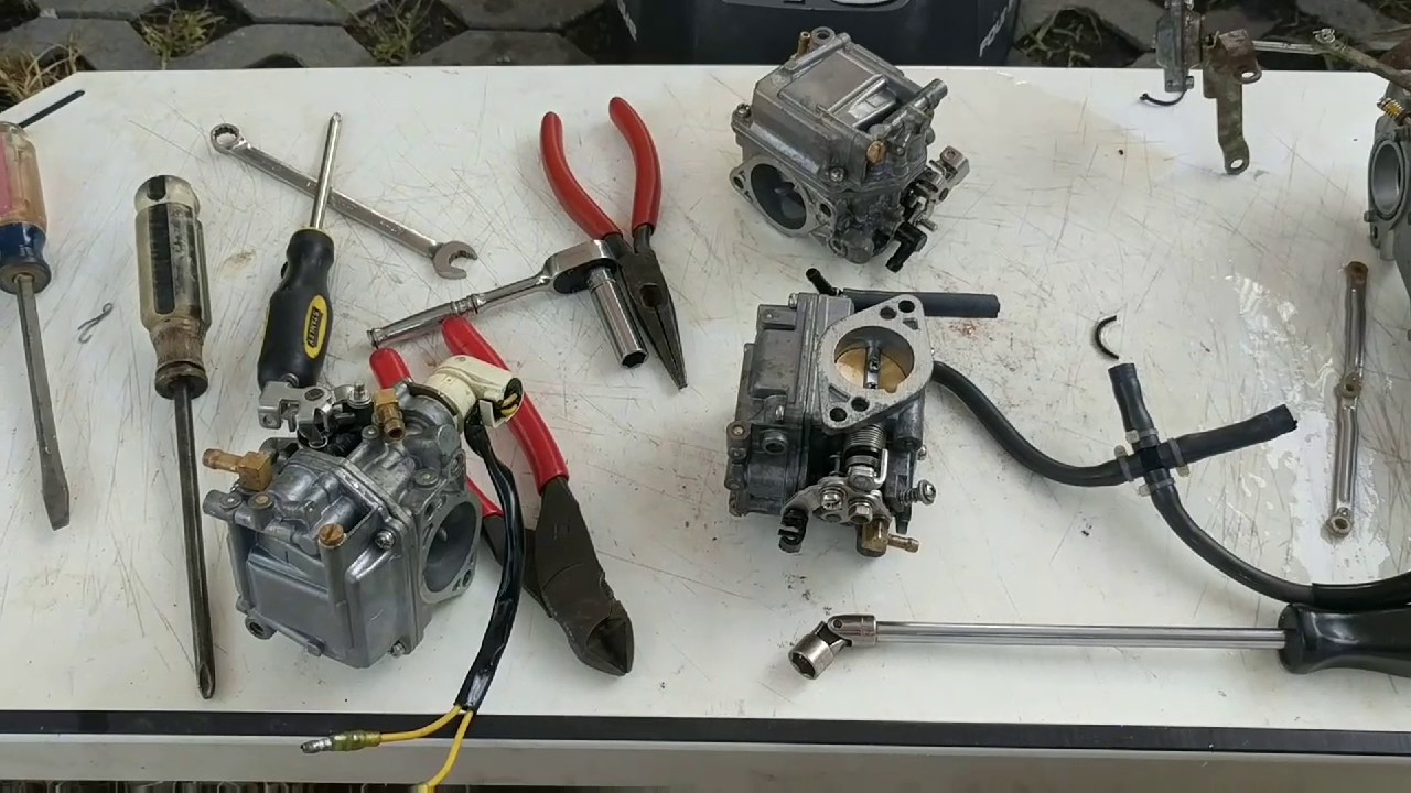 medium resolution of yamaha 40 hp carburetor fix