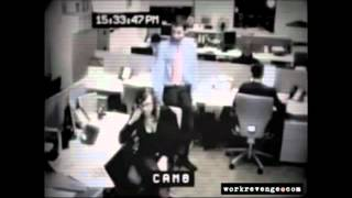 Crazy Office Worker QUITS IN STYLE