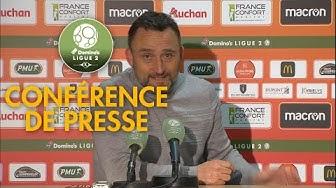 Conférence de presse RC Lens - US Orléans ( 1-0 )  / 2019-20