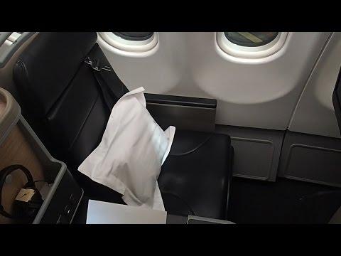 Qantas Manila to Sydney A330-200 Business Class