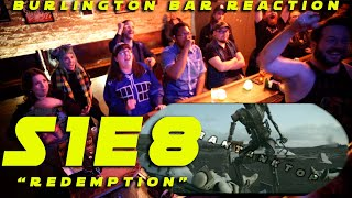 "The Mandalorian S1E8 ""Redemption"" // Burlington Bar Reaction"