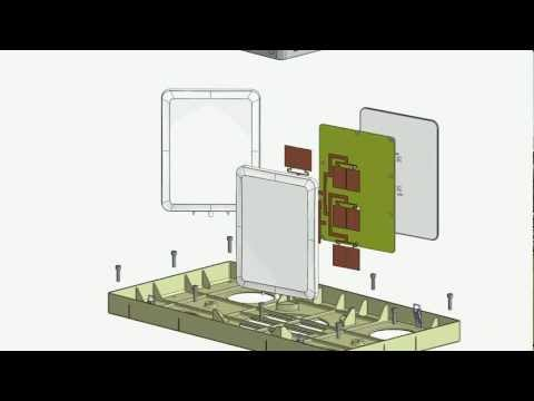Solidworks Animation: Wi-Fi base station