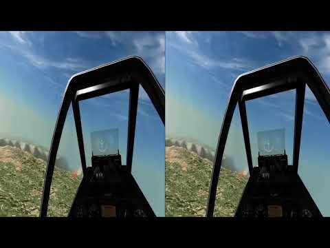 Broken Wing: VR fighter combat in Aces High III - 3D SBS version