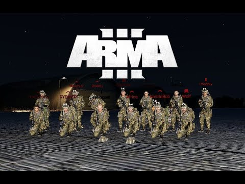 ArmA III | Solo HALO insertion and Combat Awareness Training (CAT) | Zulu Alpha Mil-sim |  FiPPSHD