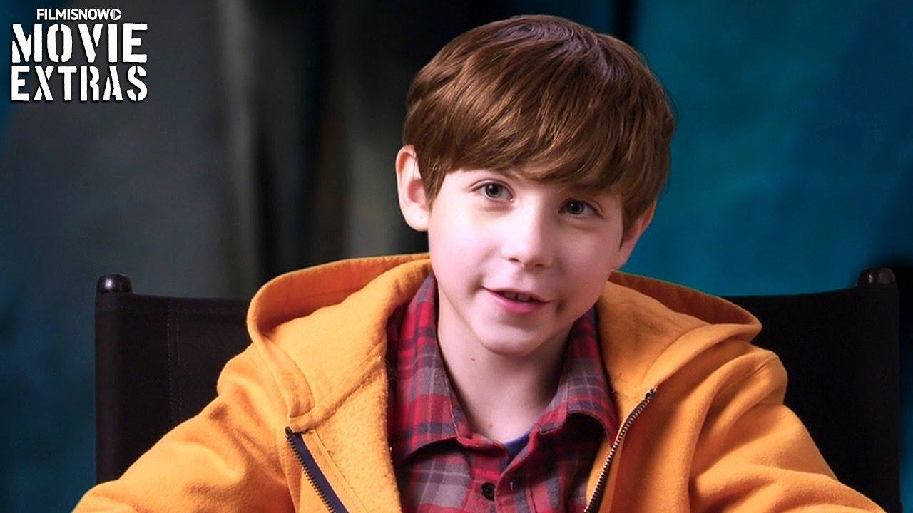 "THE PREDATOR   On-set visit with Jacob Tremblay ""Rory McKenna"""