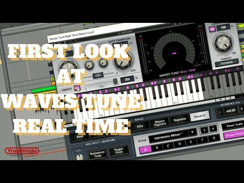 FIRST LOOK AT WAVES TUNE REAL TIME   SAUCE UP YOUR VOCALS!