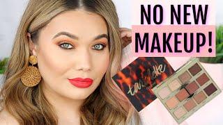 NO NEW MAKEUP! Tartelette Toasted Palette Makeup Tutorial