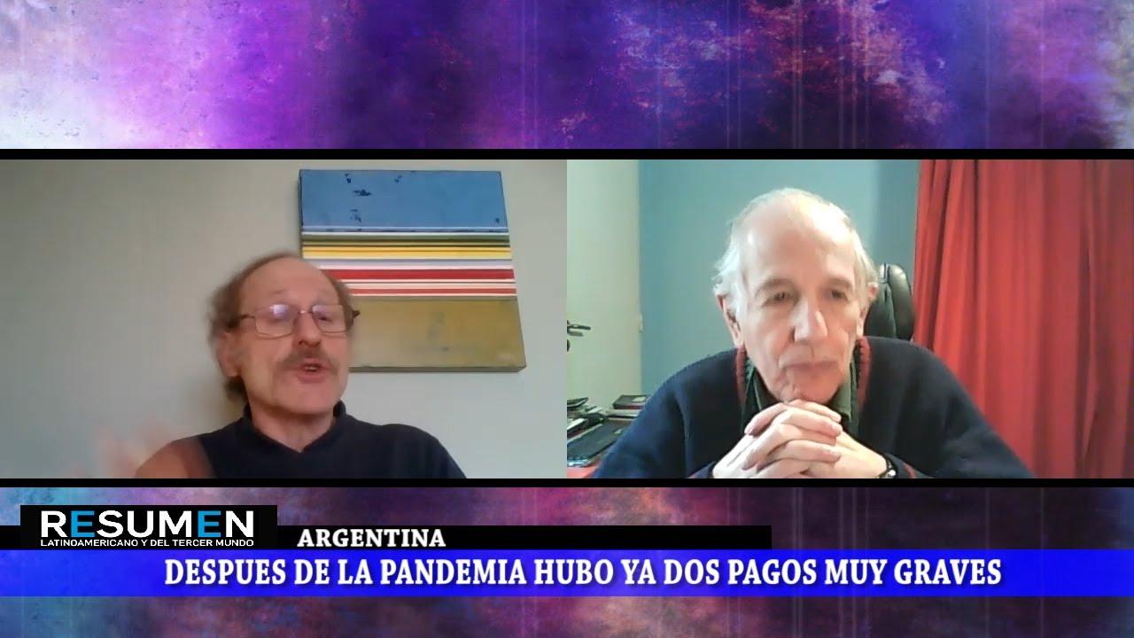 Argentina. Suspensión al pago de la deuda y auditoría