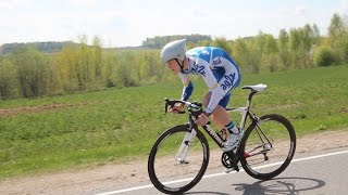 Этап кубка Беларуси по велогонкам в Новогрудке (часть первая)
