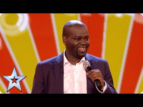 Thumbnail: Daliso Chaponda gives us the Grand Final giggles | Grand Final | Britain's Got Talent 2017