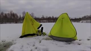 Обзор палаток Holiday и Comfortika / Кто быстрее / Зимой за живцом