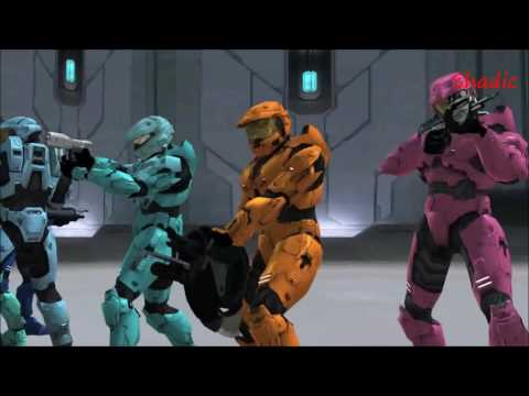 Red vs Blue  AMV  Welcome To The Club