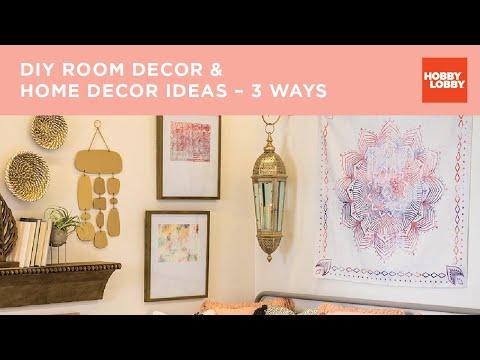 DIY Room Decor & Home Decor Ideas – 3 Ways | Hobby Lobby®
