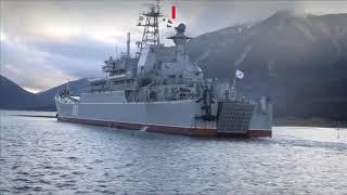 Морской десант высадился на побережье Камчатки