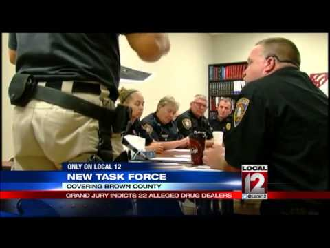 Brown County Drug Task Force rounds up area suspects