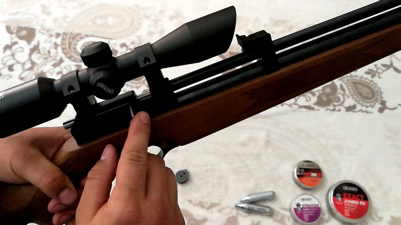 SPA CR600W CO2 RIFLE showing trigger unit by Brutuz62