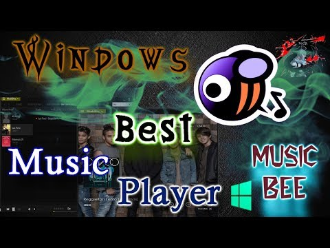 The 👍Coolest Interface Music Player🏆 | Music Bee😇