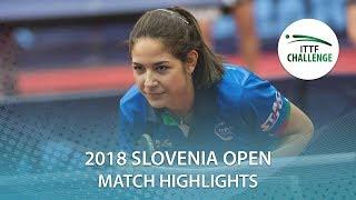 2018 Slovenia Open Highlights I Sato Hitomi vs Jamila Laurenti (R64)
