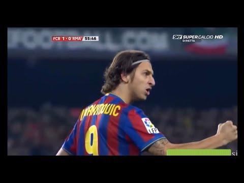 wholesale dealer b7295 102af Zlatan Ibrahimović | Barcelona 1-0 Real Madrid | 2009-10 La Liga Round 12