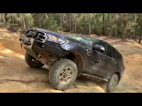 FORD EVEREST Offroad - Watagans 5 Ways & Creek Rd
