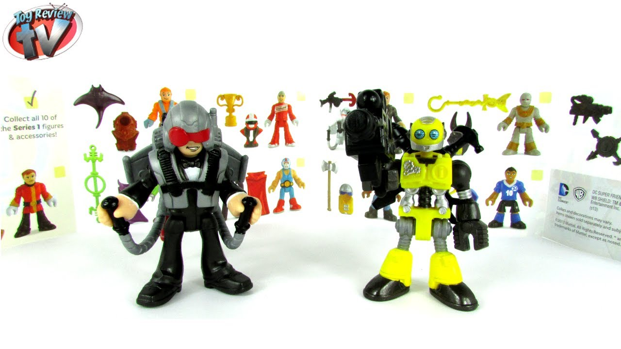 Imaginext Mystery Figure Blind Bags Series 1 Toy Review