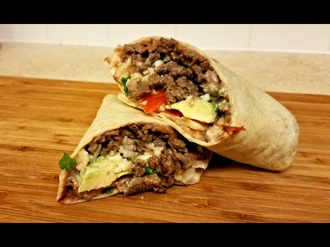 Burrito Recipe: How to make Carne Asada Burrito