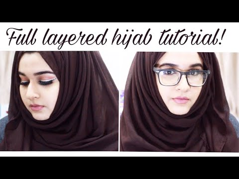 EASY hijab style with glasses !  2018 - by Paints_brushes thumbnail
