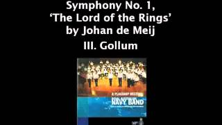 Repeat youtube video Symphony No.1 'The Lord of the Rings' - Johan de Meij