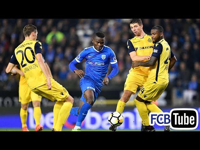 2017-2018 - Jupiler Pro League - 12. Racing Genk - Club Brugge 2-0