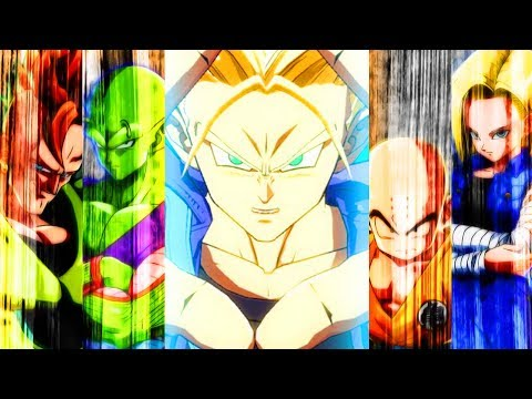 Dragon Ball FighterZ Gameplay: Androids 16, 18, Krillin, Piccolo & Trunks!! [TGN Anime]