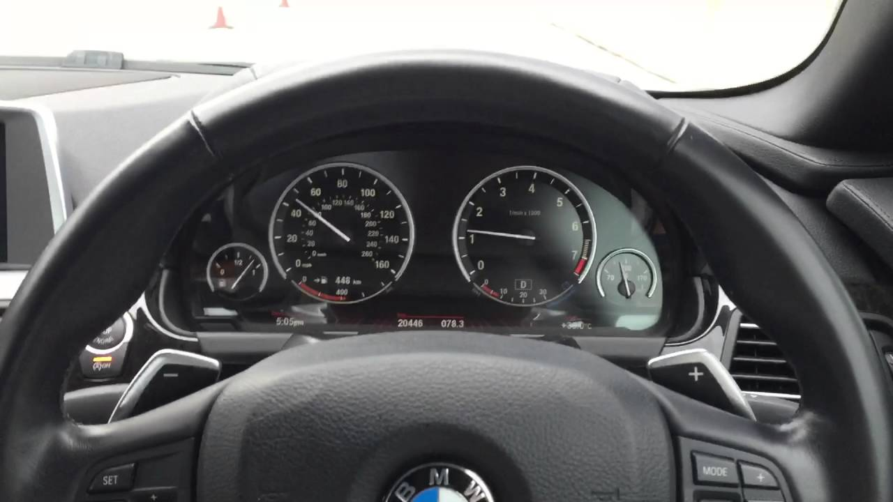 Bmw Speedometer Color Change Youtube