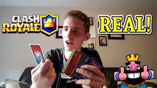 Clash Royale | REAL CARDS!