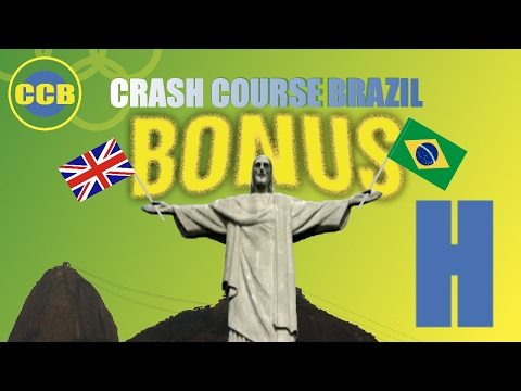 Bonus vocabulary : English words you can use in Brazil; letter H (portuguese for beginners)