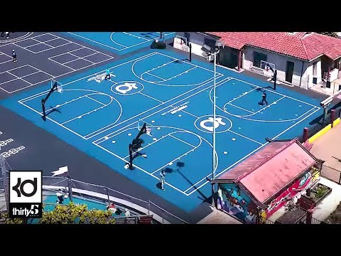 Lincoln Square Court Unveiling in Oakland