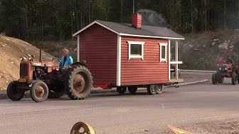 Vuolenkosken traktorimarssi Vierumäelle 2014