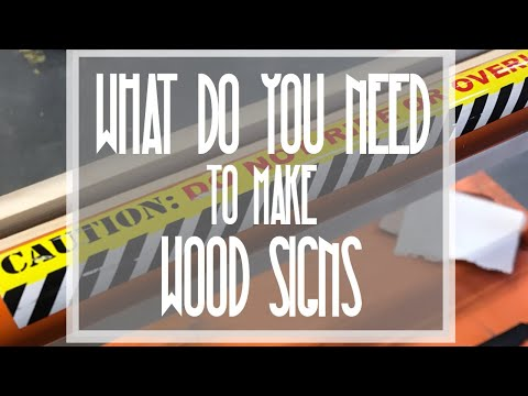HOME DEPOT RUN VLOG | WOOD SIGN TIPS AND TRICKS