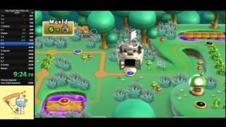 New Super Mario Bros. Wii Any% Speed Run (26:00)