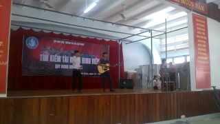 [QNU-Got Talent 2014] Dù Có Cách Xa - Gia Huy & Tuấn Ksor (QLĐĐ.K37B)