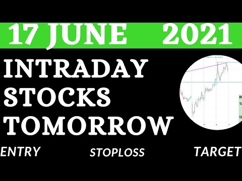 Download Best Intraday Stocks for Tomorrow ( 17 june 2021)  Intraday trading Stocks   Detailed Analysis    💥