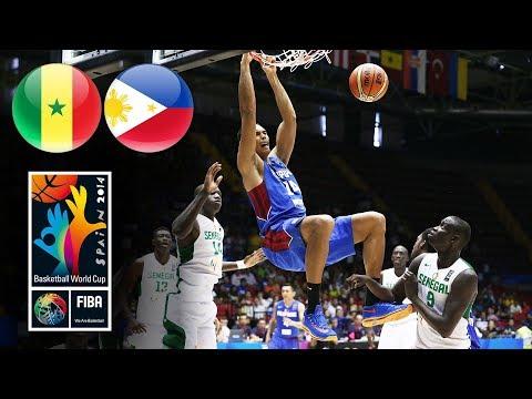 Senegal 🇸🇳 v Philippines 🇵🇭 - Classic Full Games | FIBA World Cup 2014