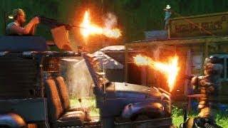 FarCry 3 - AI Fight - Pirates take over Rakyat village