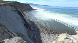 Pays Basque : Depuis la corniche 2 min face à l'océan atlantique