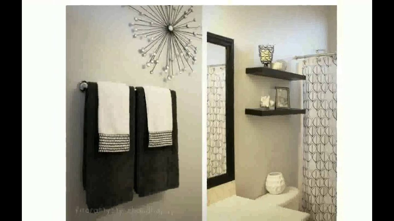 Decorating Ideas Bathroom Youtube