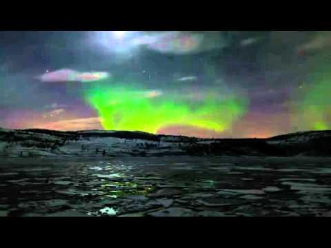 Chiêm ngưỡng cực quang bầu trời Bắc Cực về Đêm