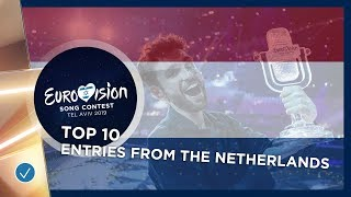 TOP 10: Entries from The Netherlands - Eurovision Song Contest