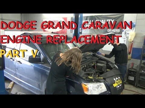 Dodge Grand Caravan 3.8 - Engine Replacement - Part 5