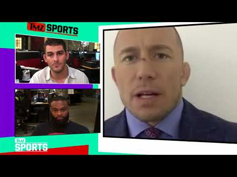 Georges StPierre on Conor McGregor Fight: Don't Rule It Out!  TMZ Sports