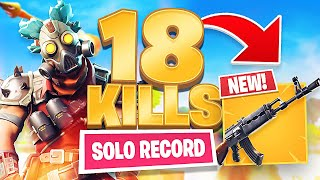 18 KILL SOLO WIN! NEW PC KILL RECORD - FORTNITE BATTLE ROYALE