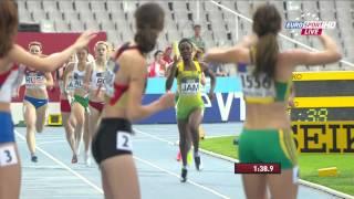 4x400 Meter Staffel Frauen - Finale - U20 Weltmeisterschaften Barcelona (Spanien) 2012