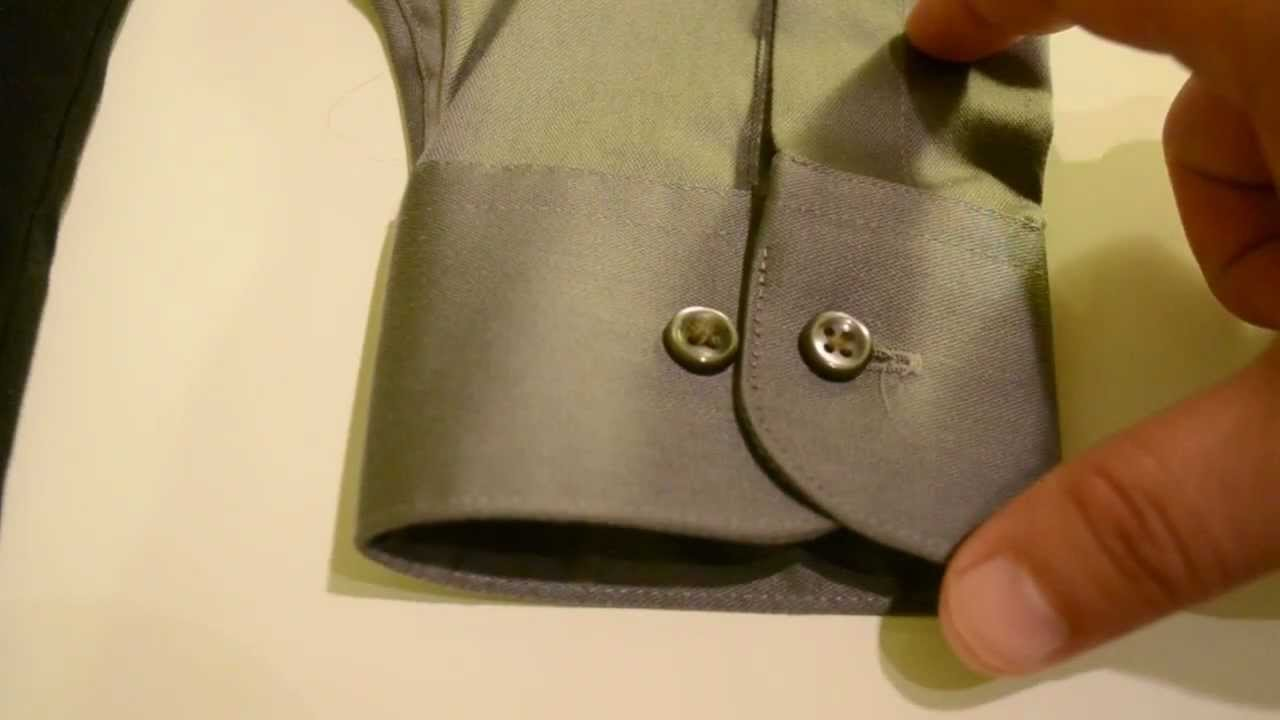 Mens Style Tips - French Cuff vs One-Button Barrel Shirt. - YouTube